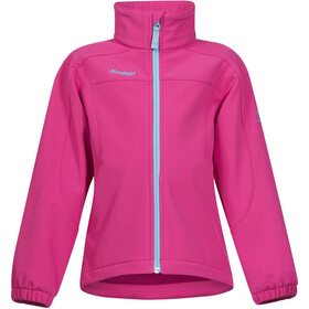 Bergans Reine Jacket Kids Hot Pink/Deep Turquoise